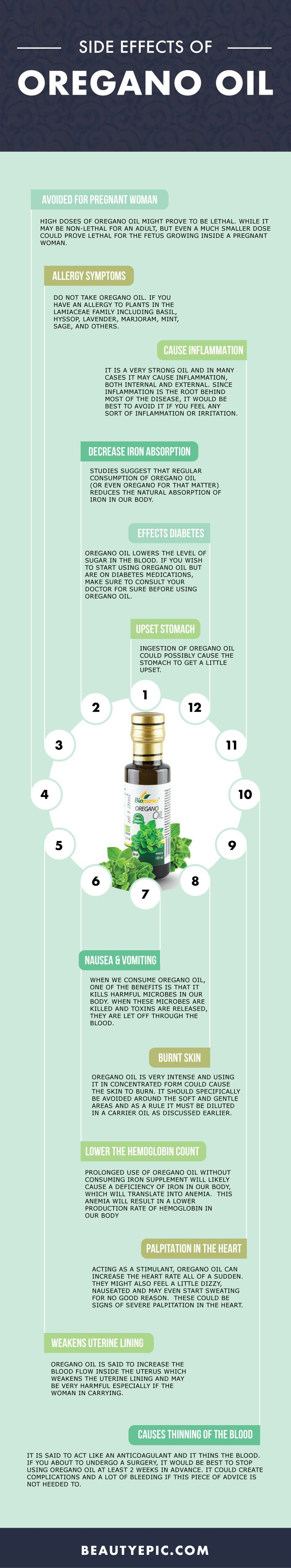 14 Must Know Serious Side Effects Of Oregano Oil