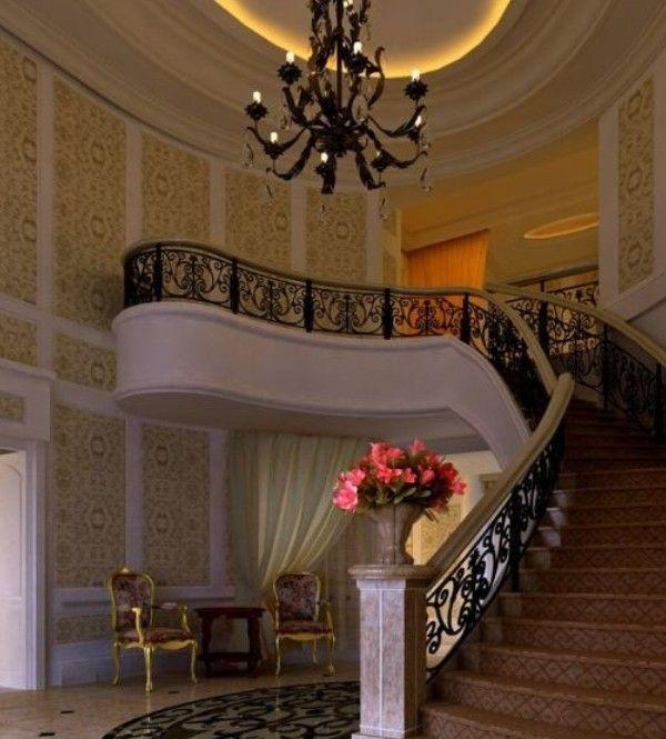 Best Luxury Staircase Duplex House Design Home Interior 400 x 300