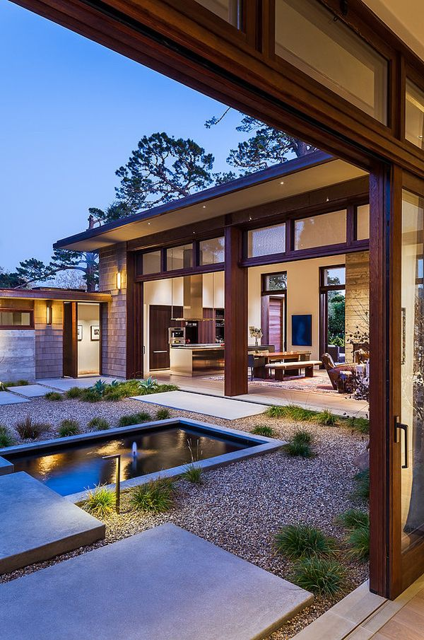 Zen-like simplicity and elegance in Montecito: Thayer House