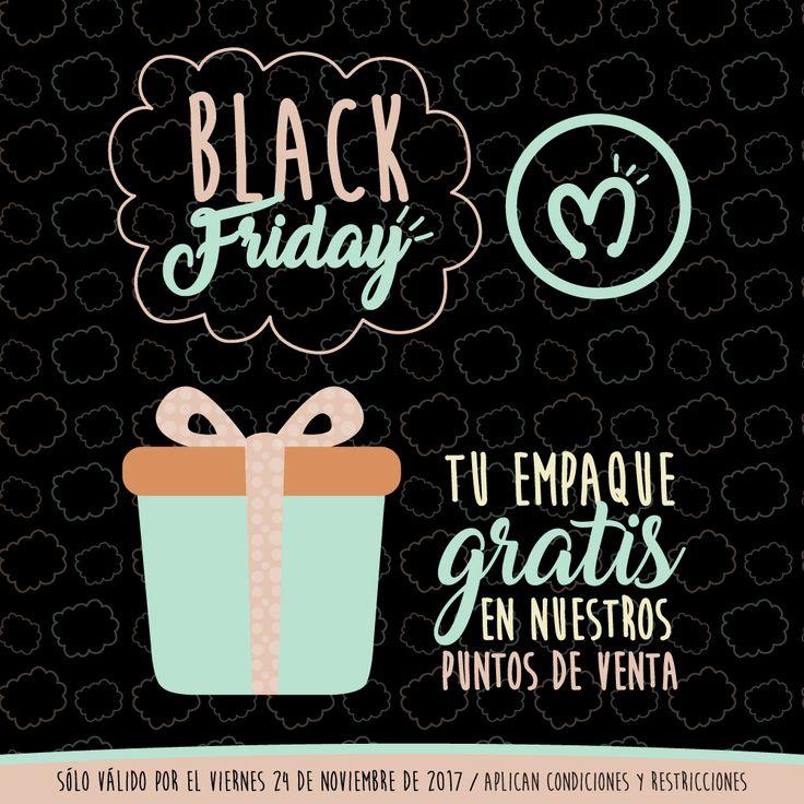 Llega BlackFriday a Migas Tienda, lleva tu regalo con empaque gratis, sólo válido por el viernes 24 de noviembre de 2017, aplica condiciones y restricciones, visita nuestros puntos de venta o encarga tu regalo a domicilio con 1 día de anterioridad, para mayor información escríbenos al 314 855 2090. #BlackFriday #BigSale #Migas