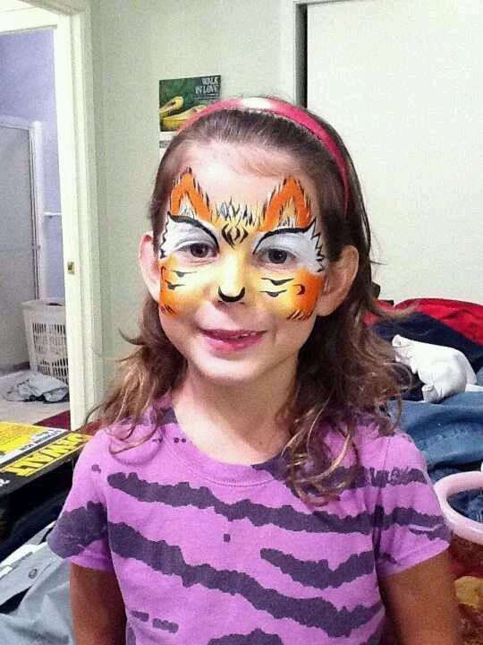 Tiger Mask by April Edwards