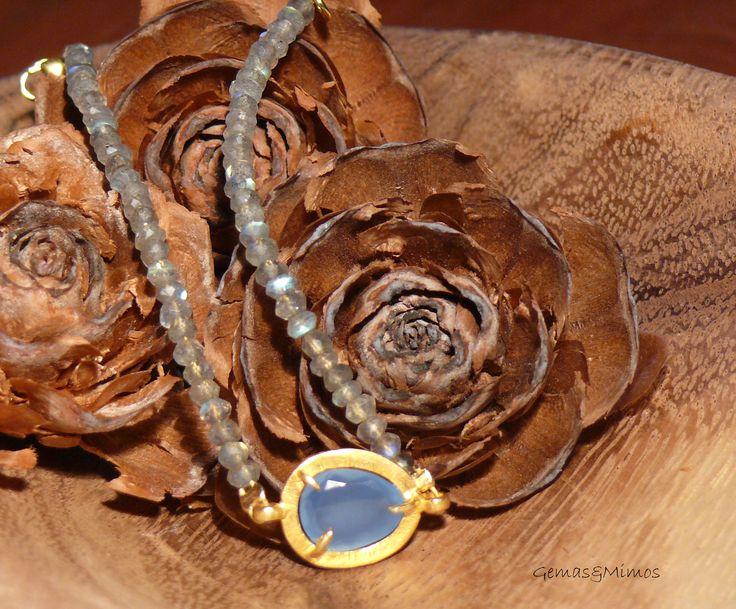 Labradorita #jewelry #handmade #gemstones #joyeria #hechoamano #artesania #piedras