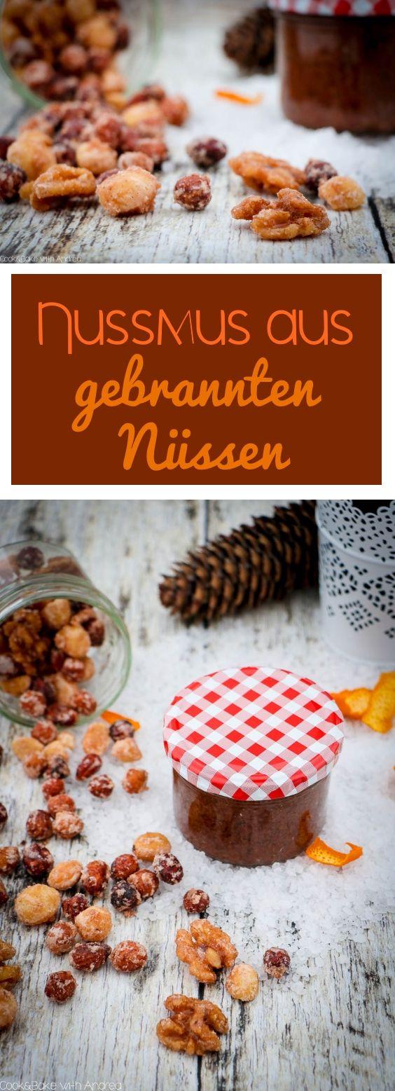 Der Weihnachtsmarktklassiker schlecht hin sind doch gebrannte Mandeln bzw. Nüsse. Ich habe diese einfach mal selbstgemacht und daraus einen weihnachtlichen Brotaufstrich - Nussmus gezaubert. Das einfache Rezept findet ihr auf dem Foodblog von Cook & Bake with Andrea.