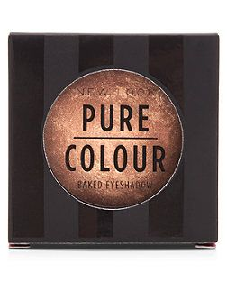 Pure Colour Bronze Baked Eye Shadow  | New Look