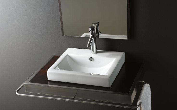 17 mejores im genes sobre lavabos de porcelana rectangular for Lavabo rectangular