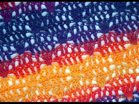 How to Crochet: Dropped Doubles Stitch Pattern