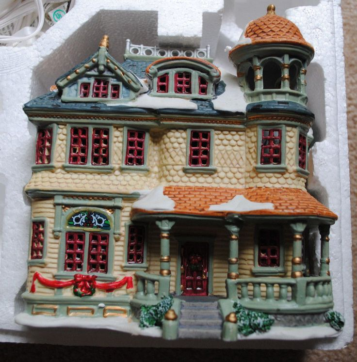About christmas village collections on pinterest christmas villages