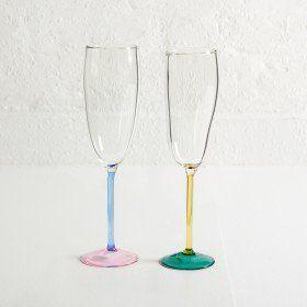 Jochen Holz – Incalmo Champagne Flutes (Pair)