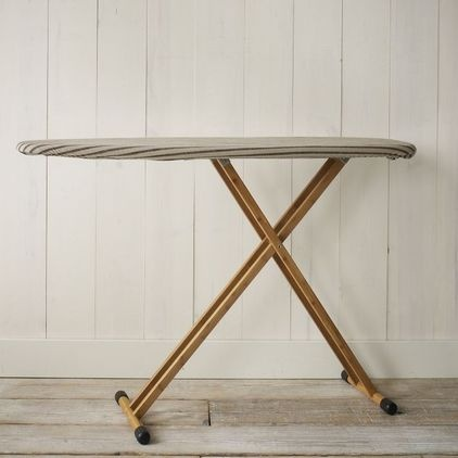 how about painting the bottom of my boring ironing board.   contemporary ironing boards by West Elm