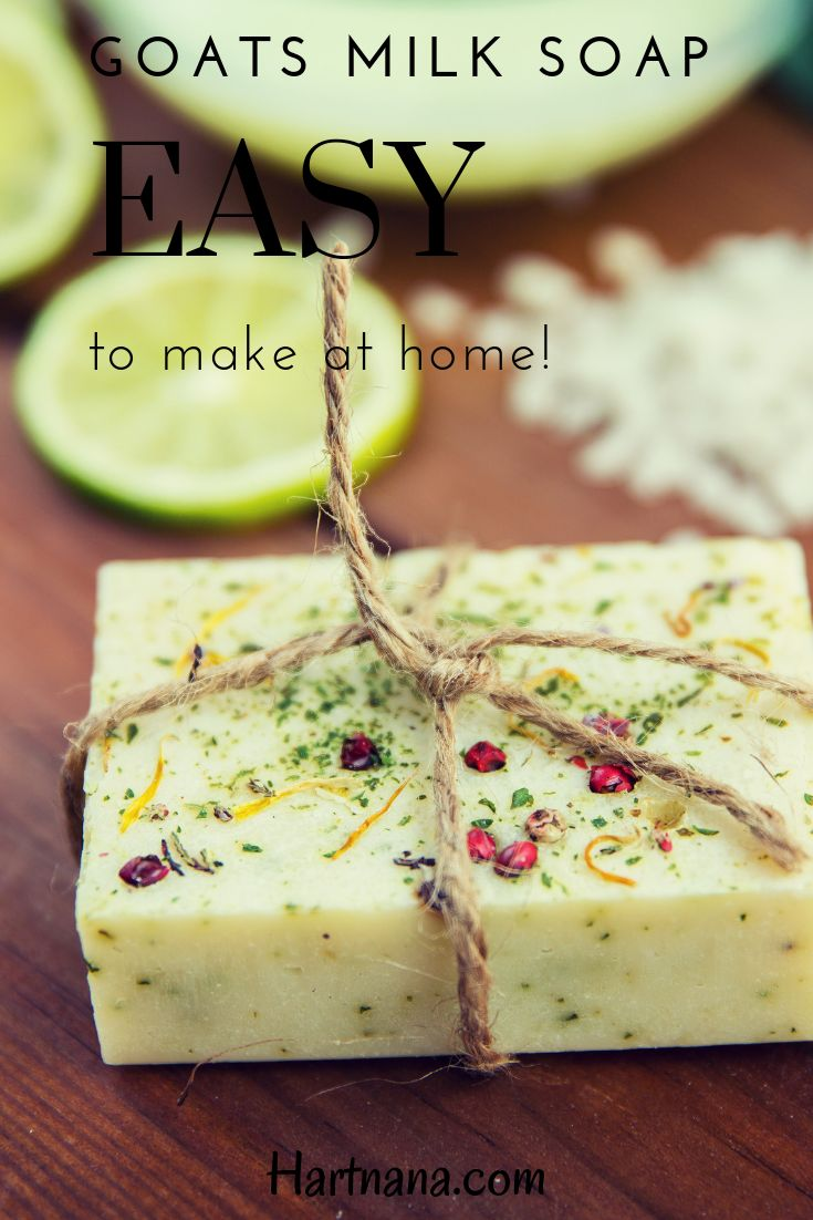 Homemade goats milk soap recipes without lye great for