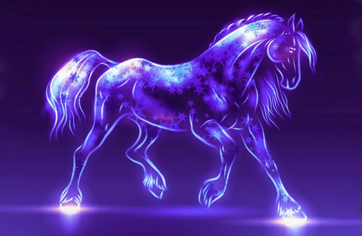 Star Horse Fantasy Digital Art Pinterest Horses And