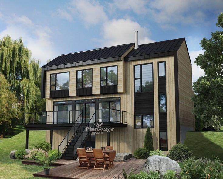 les 25 meilleures id es de la cat gorie maisons deux tages sur pinterest belles maisons. Black Bedroom Furniture Sets. Home Design Ideas