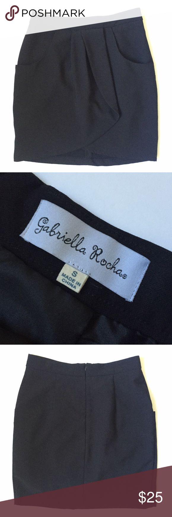 Gabriella Rocha Skirt This semi ruffle Gabriella Rocha skirt is very well made and has an inside slip and pockets! 100% Polyester. Gabriella Rocha Skirts Mini