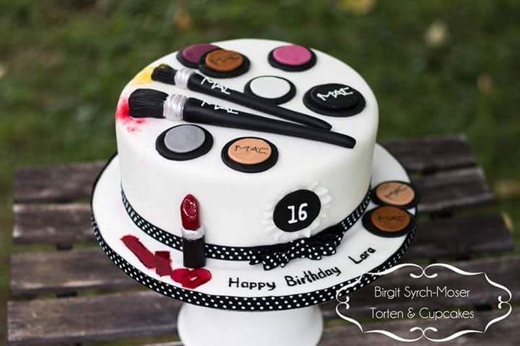 MAC Birthday Cake - Birgit Syrch-Moser - Google+