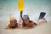 Pelican Beach, Dangriga, Belize  - Beach snorkel