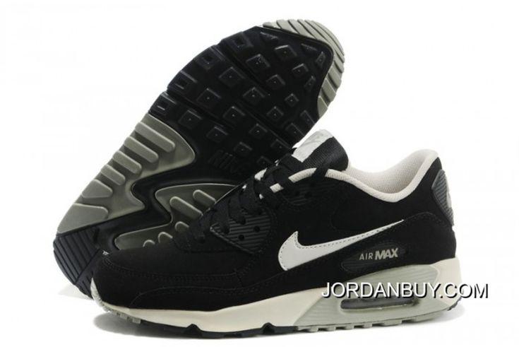 http://www.jordanbuy.com/womens-nike-air-max-90-black-white-shoe.html WOMENS NIKE AIR MAX 90 BLACK WHITE SHOE Only $85.00 , Free Shipping!