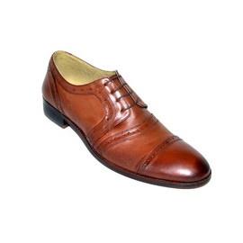 """Pantofi eleganti barbati """"Black Heart"""" - 12-815 Brown"""