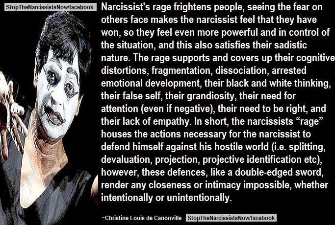 Narcissist's Rage Narcissistic abuse hurts we can heal @TracyAMalone loves this Pin Thanks @Narcissist Abuse #Quote