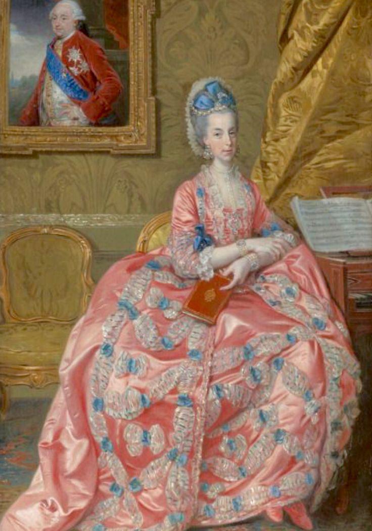 Maria Amalia Duquesa de Parma,segunda hermana preferida de María Antonieta,se casó con el Duque Fernando de Parma.