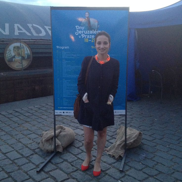 Days of Jerusalem in Prague...editor in chief of fashionbook.cz Anna Nosková