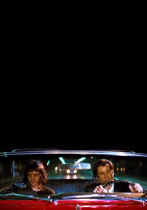 John Travolta & Uma Thurman in 'Pulp Fiction' (1994)