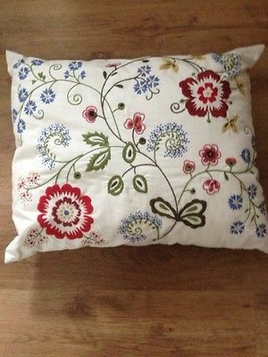 "gorgeous ikea ALVINE FLORA cushion 20""x24"""
