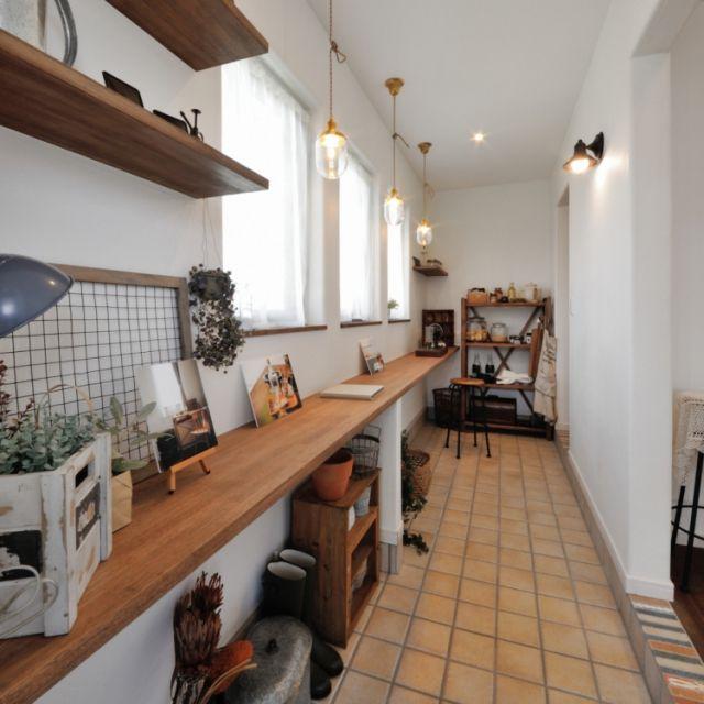 Naturieさんの、収納アイデア,玄関/入り口,ナチュリエ,見せる収納,土間収納,のお部屋写真