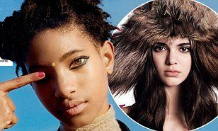 Willow Smith signs with Kendall Jenner's modelling agency | Daily Mail Online