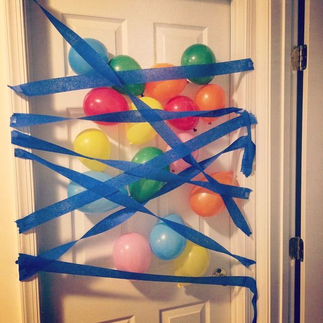 What a fun surprise for the kids when they wake up on their birthday! via Pint Sized Baker