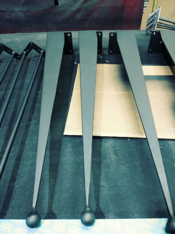 """16"""", tapered,angle iron,industrial table legs,set of 4"""