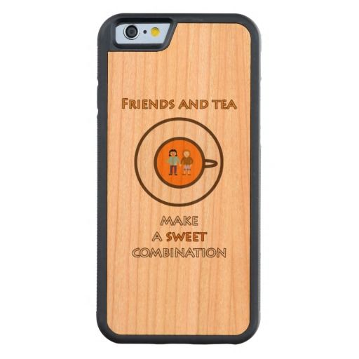 Friends and tea make a sweet combination (2) cherry iPhone 6 bumper case