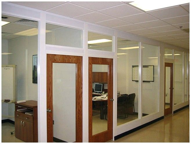 24 best office images on pinterest Office partition walls with doors