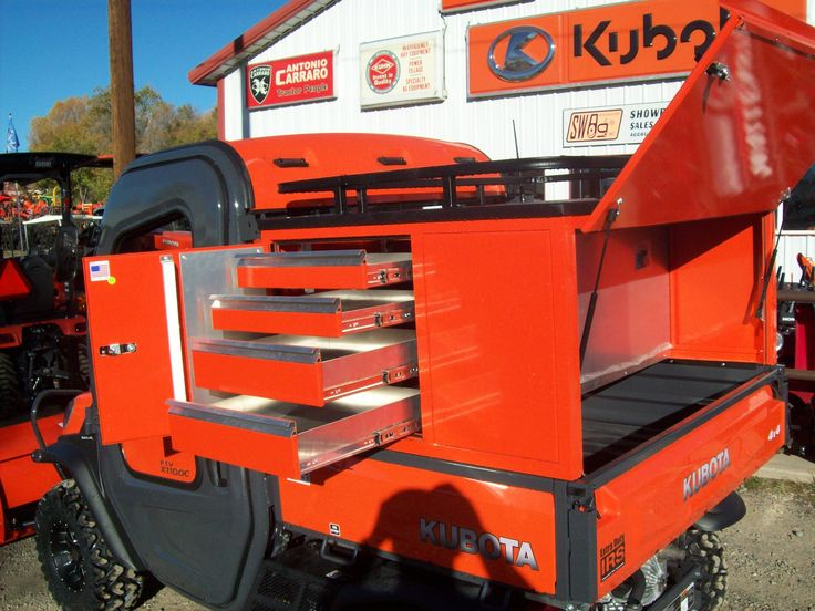 After Market Rtv Tool Box Southwest Ag Kubota Lineup