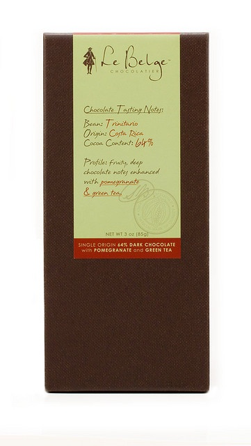 Le Belge Chocolatier - Single Origin Chocolate Bar