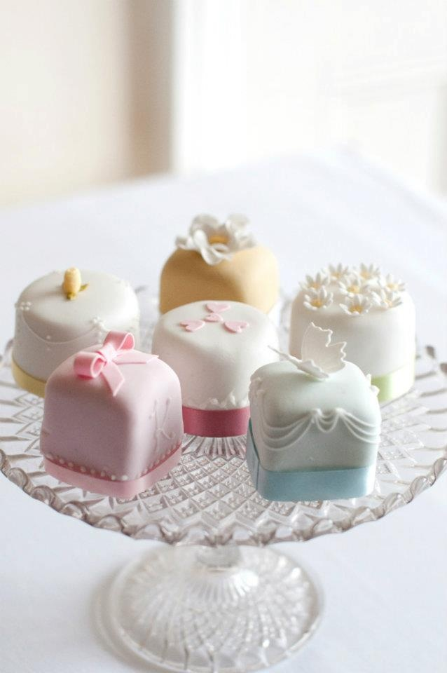 382 Best Mini Cakes Amp Petits Fours Images On Pinterest