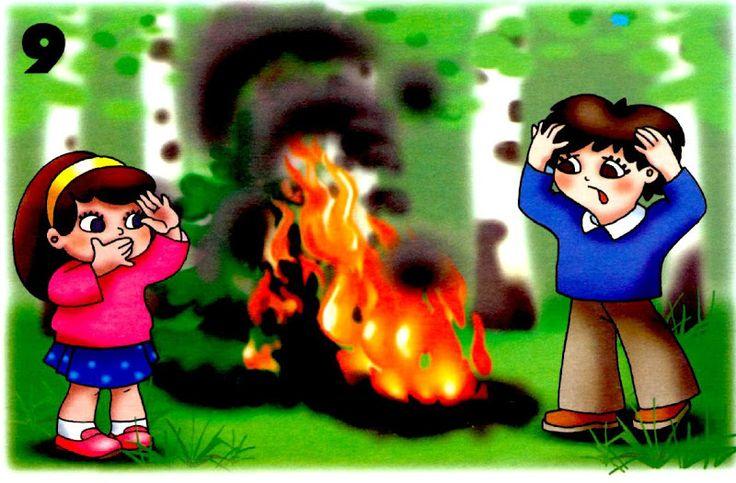 robiť oheň bez dozoru