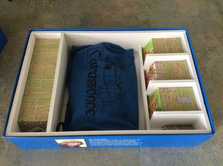 Carcassonne organizer box