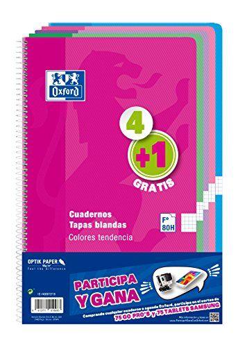 Oxford 400072719 - Cuadernos espiralados, varios colores,... https://www.amazon.es/dp/B01EWMMJHI/ref=cm_sw_r_pi_dp_x_PF7FzbFB21XP3
