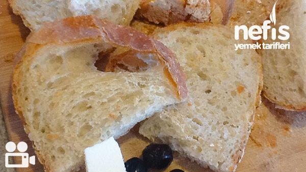Evde Hamur Yoğurmadan Ekmek Yapımı