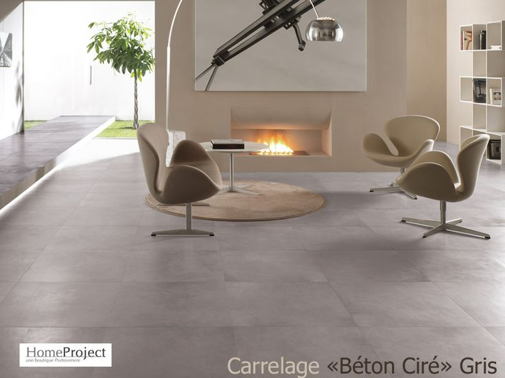 Carrelage Béton ciré gris Home Project http://www.homeproject.fr/epages/282652.sf/fr_FR/?ObjectPath=/Shops/282652/Products/betonciregris/SubProducts/betonciregris-0059