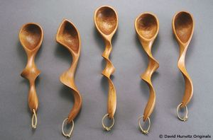 cherry wood spoons repinned by www.smg-treppen.de