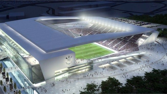Arena de Sao Paulo - Picture of the artist rendition of the Arena de Sao Paulo, Sao Paulo