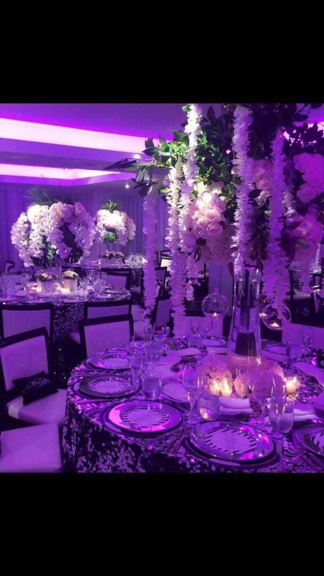 #wedding #flowers #tablearrangement