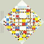 Broadway Boogie Woogie  by Piet Cornelis Mondrian