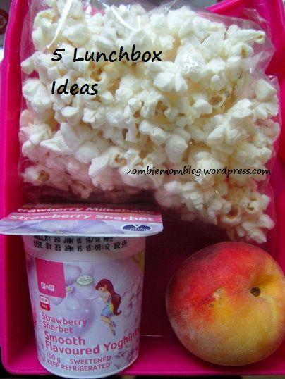 5 Lunchbox Ideas