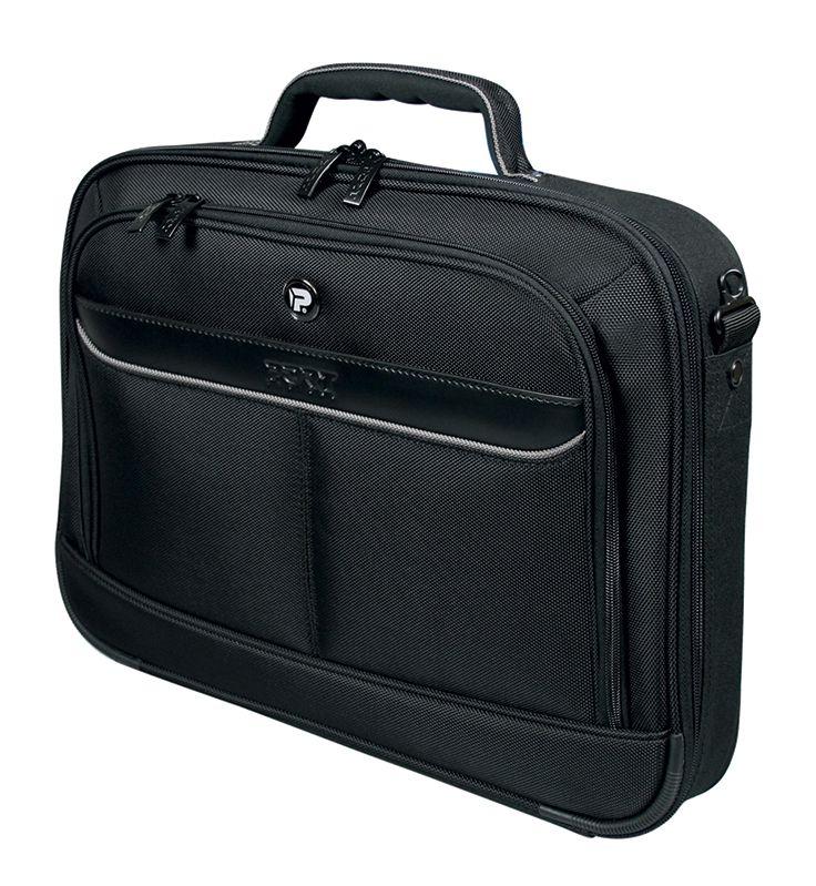 MANHATTAN II CLAMSHELL: Sacoche pour Notebook. Poche avant pour accessoires. Cadre en polyéthylène pour rigidifier et renforcer la protection de votre PC portable. Sangle pour trolley. Pieds en plastique anti-frottements. Etiquette à bagages. Réf. 170200 - 15,6'' | Réf. 170201 - 17,3''. http://www.exertisbanquemagnetique.fr/info-marque/port/ #Port #Sacoche #Ordinateur