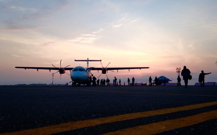 Kesyukuran Aminudin Amir - Airport of Luwuk - Banggai - Central Sulawesi - Indonesia