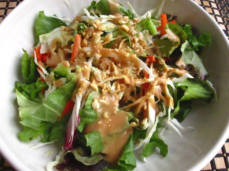 The Most Amazing Salad Dressing Ever: Thai Peanut Dressing
