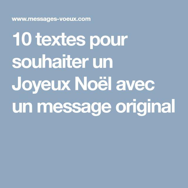 10 textes pour souhaiter un Joyeux Noël avec un message original