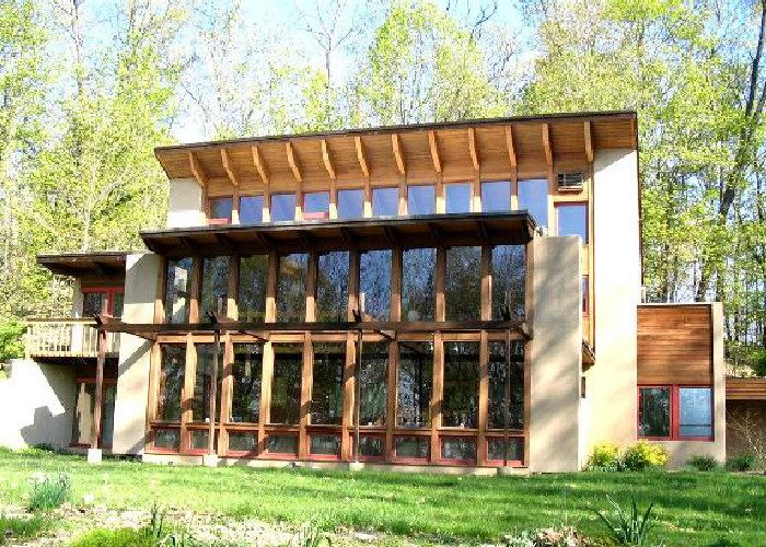 Το παθητικό ηλιακό σπίτι.